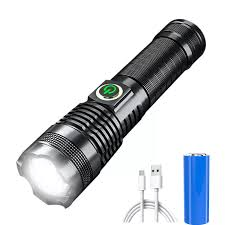 Còn Hàng] Đèn Pin Xhp70 1000000 Lumens Có Thể Sạc Lại Chính Hãng Đèn Flash  LED