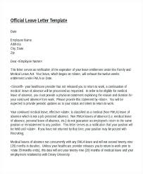 Template Letter Paternity Leave Copy Sample Maternity Leave Letter ...