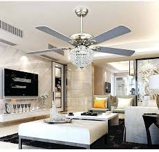 ceiling fans ceiling fan with crystal chandelier light kit architecture and interior amazing acrylic crystal