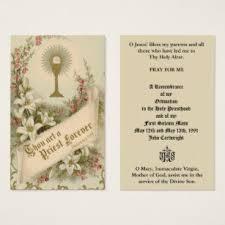 Ordination Invitation Template Catholic Priest Ordination Anniversary Holy Cards