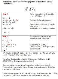 solving systems of equations by substitution worksheet 19 elegant 14 best systems of equations images on