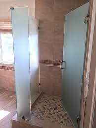 frosted glass shower enclosure. Custom Shower Enclosure 1/2 Inch Frosted Glass S