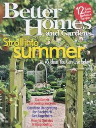 Small Picture May 2016 Better Homes And Gardens Rose Gardening Better Homes And