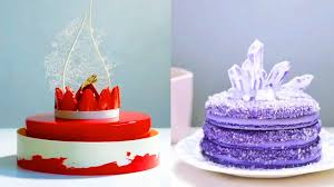 How To Decorate A Pretty Cake Easy Making Birthday Cakes Recipes