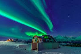 Glass Igloo Northern Lights Northern Lights In Tromso Watching Aurora From A Glass Igloo