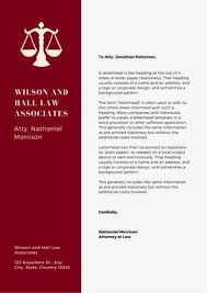 Customize 37 Law Firm Letterheads Templates Online Canva