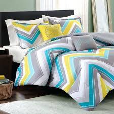 teal chevron bedding blue print twin comforter set photo xl teal chevron bedding