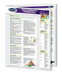 Psychology Chart Details About Developmental Psychology Chart Quick Reference Guide 4 Page Laminated Guide