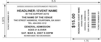Admission Ticket Template Free Download Sports Ticket Template Free Download Ticket Invitation Template Free