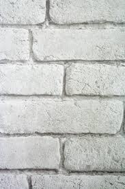 koziel white brick wallpaper for