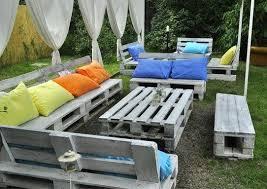Tavoli Da Giardino In Pallet : Salotti da giardino con pallet ecco idee