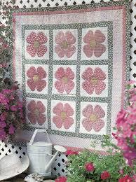 Pink Dogwood Quilt Pattern Pieced/Applique NM | Pink dogwood ... & Pink Dogwood Quilt Pattern Pieced/Applique NM Adamdwight.com