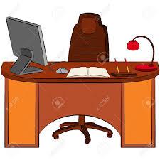 office desk clipart. Fine Desk Office Desk Clipart  Free Download Best On  And