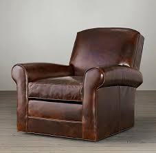 natuzzi leather swivel club chair innovative small chairs river ridge furniture