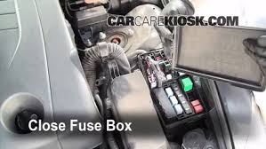 replace a fuse 2006 2014 lexus is250 2008 lexus is250 2 5l v6 6 replace cover secure the cover and test component