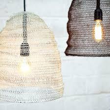 pendant lamp shades metal wire mesh pendant lamp shade oval fabric pendant light shades nz