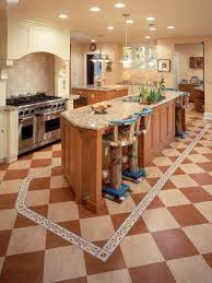 Kitchen Floor Materials Kitchen Trendy Kitchen Flooring Regarding Kitchen Floors Best