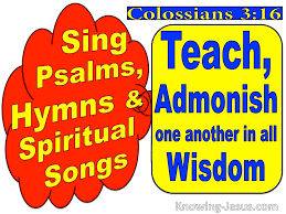 However, this approach to interpreting the new testament is impossible to maintain in a consistent way. 63 Bible Verses About Music