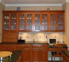 Image of: Glass Kitchen Cabinet Doors Home Depot