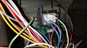 add c wire for thermostat to goodman furnace home improvement Goodman Thermostat Wiring Diagram my question is should i connect to the 24v terminal on the board or one of the wires that are screwed into the metal next to the transformer goodman thermostat wiring diagram blue wire