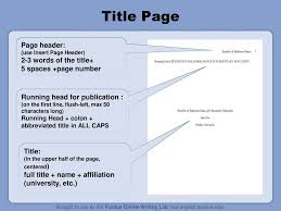 What Is A Page Header In Apa Format Ataumberglauf Verbandcom