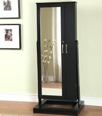 armoires standing mirror jewelry armoire simple dressing room with full length mirror jewelry cabinet ideas