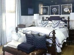 Brave Navy And White Bedroom Coastal Bedroom Navy And White Coastal ...
