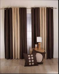 decorations sliding door blackout using cream curtains plus canvas wall art and chrome rod curtains