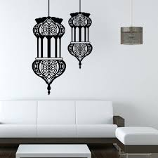 chandelier wall decal best of elegant black masked woman sticker home canada