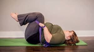 curvy yoga reclined pose anna guest jelley