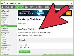 How to Declare a Variable in Javascript (with Pictures) - wikiHow