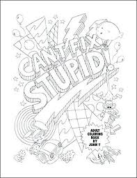 Words Coloring Pages 488websitedesigncom