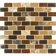 Home Depot Tiles For Kitchen Merola Tile Tessera Piano Stonehenge 11 5 8 In X 11 3 4 In X 8