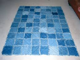 Artful Homemade Quilts Have A Way | Page 322 | US Message Board ... & ... Blue Jean Rag Quilt. [ IMG] Adamdwight.com