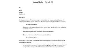 Letter Format Sample Appeal Letter Format 9 Free Documents In Word Pdf
