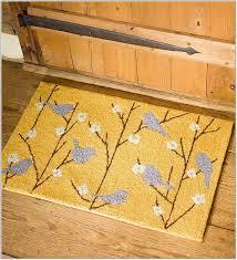 yellow kitchen rugs washable