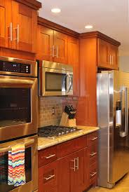 Cherry Shaker Kitchen Cabinets American Cherry Shaker Kitchen Cabinets Kitchen Cabinet
