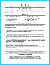 Medical Billing Resume Example Benjaminimages Com Benjaminimages Com
