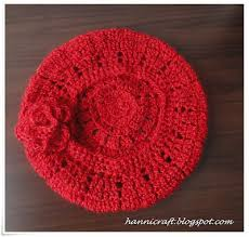 Crochet Beret Pattern Cool Hannicraft Simple Beret Crochet Pattern