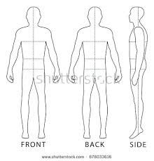 Body Template For Designing Clothes Fashion Figure Template Design Male Templates Definition Computer