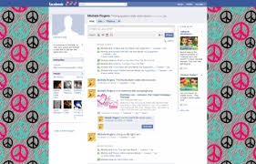 Zebra Peace Signs Facebook Layouts Zebra Peace Signs Facebook