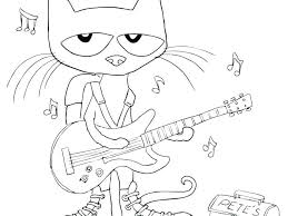 Pete The Cat Coloring Book The Cat Coloring Pages Cat The Cat