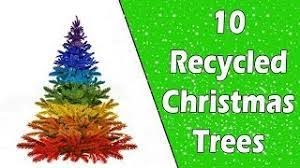 10 recycled christmas trees ecobrisa