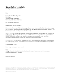 Cover Letter Format For Resume Cover Letter Format For Resume Inspirational Example Letters 1