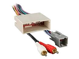 amazon com metra 70 5521 radio wiring harness for ford 03 up amp  at 2005 Ford F150 Subwoofer And Amp Power Wiring Diagram