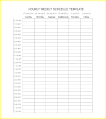 Schedule Word Weekly Time Schedule Template Weekly Time E Template