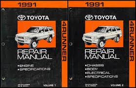 1991 toyota 4runner wiring diagram manual original