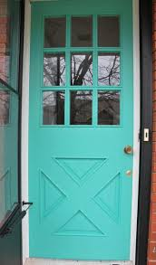 front door paint ideasA DIY Turquoise Front Door  Hometalk