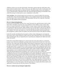 Divorce Essays Causes And Effects Essay About Divorce Mistyhamel