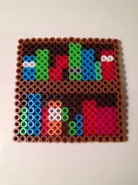 17 best images about m minecraft perler bead fun minecraft bookcase block perler bead by nerdchristmas on 5 00